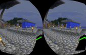 Virtual Reality Minecraft 1.8 avec un carton de Google