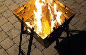 Portable / flatpack fire panier