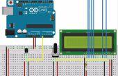 Arduino Uno : Capteur de température avec affichage