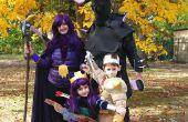 Le choc des Clans raids parti (Roi barbare, Archer Reine, sorcière (avec squelettes) et P.E.K.K.A.