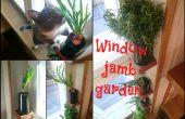 Jardin de jambage de fenêtre