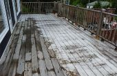 Nettoyer Deck - How to Clean Deck avec nettoyant bois et nettoyeur haute pression