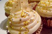 Champagne Cupcakes avec mousseux Rock Candy