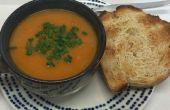 Soupe de lentilles et de légumes (vegan)