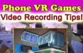 IPhone Android Google carton VR 3D jeux vidéo-enregistrement Rig !