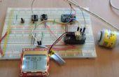 Facile à construire à analyseur d'oxygène à l'aide d'un Micro contrôleur Arduino Compatible