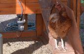 Son sur un élevage de poulets intelligente