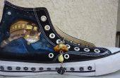 Personnaliser des chaussures avec de l'acrylique