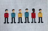 Point de croix Star Trek : L'originale série équipage