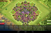 Le choc des clans TH8 agriculture base-The Knife Edge