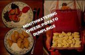 Boulettes de fromage savoureux/pomme de terre