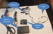 Construire une distance avec Arduino, protection du capteur IR et VB.NET XBMC/KODI
