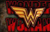 Wonder Woman Emblem - bois et de résine