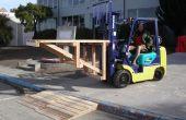 Chariot élévateur dock et trottoir de rampe de chargement