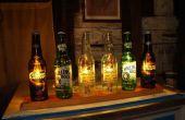 Bière bouteille couleur orgue