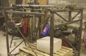 Machine CNC pour façonner les gros morceaux de mousse de polystyrène