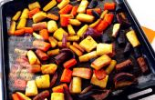 Roi glacé carottes rôties (GF)