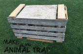 Piège à animaux en bois