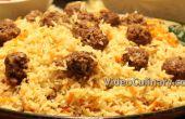 Boulettes de viande et riz Pilaf - recette repas un Pot
