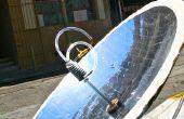 Construire un chauffage d'eau chaude solaire parabolique utilisant 123D