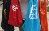 Le sac fourre-tout à T-SHIRT recyclé plus rapide
