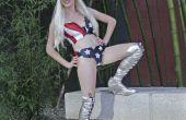 Lady Gaga Costume de drapeau américain