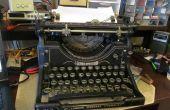 Projet APC : Rouages de la machine à écrire