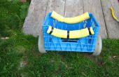 Chariot de portage simple canoë/kayak