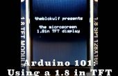 Arduino débutant - à l'aide d'un écran TFT de 1,8 pouces
