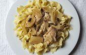 Ralentir les cuisses de poulet mijoteuse avec Olives et fenouil