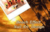 Effet plage Nail Art Design