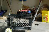 Construire un chariot caisse de lait