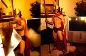 Comment faire une armure Spartan de carton