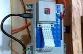 Raspberry Pi porte de garage avec streaming vidéo du statut de la porte.