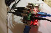 Raspberry Pi Torrent, Samba et DLNA avec les disques durs de 3 +