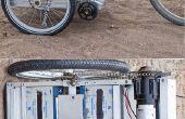 Vélo motorisé électrique remorque Greg, le