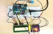 Temp & capteur d'humidité avec LCD Disp & voyant