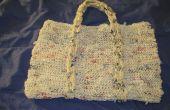 Tricoter en plastique sac à main