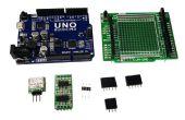 Servant d'Arduino UNO 3-CH haute résolution DACs