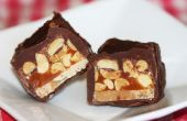 Homemade Baby Ruth Candy Bars