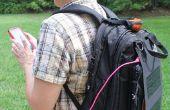 Bronzé chien chargeur solaire sac à dos Powered Gadgets