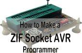 Programmateur universel pour prise d'AVR et S51 plus ZIF !