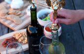 Topper bouteille trophée