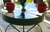 Réutiliser les vieilles roues dans une table de rotation impressionnante !