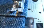 Ourlets de Jeans la manière simple