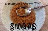 Utilise inhabituelle pour sucre