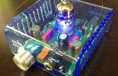 Acrylique enceinte à l'aide de Laser Cutter et élément chauffant