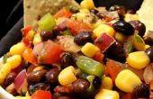 Salsa de maïs et de haricots noirs