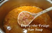 Soupe de jambon vide le frigo