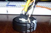 Super batterie de condensateur pour souris